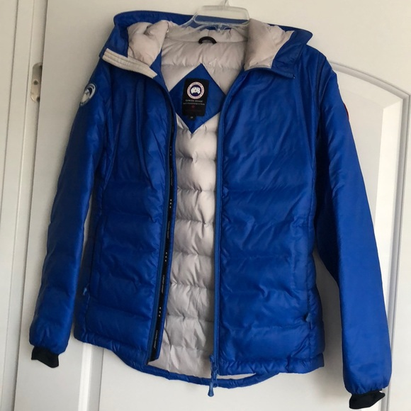 "Canada goose ""pbi camp"" packable down jacket"